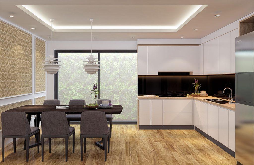 Thiết kế nội thất sang trọng tại Bạch Đằng Luxury Residence