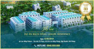 Mở bán dự án Bạch Đằng Luxury Residence