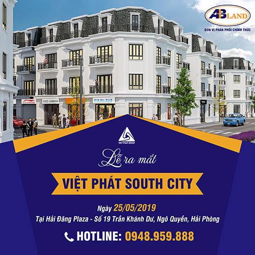 Lễ ra mat dự án Việt Phát South City Hải Phòng