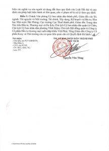 Giấy phép xây dựng dự án Việt Phát South City