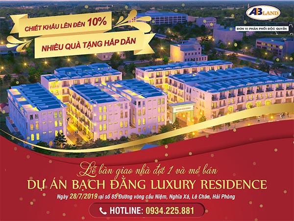 Lễ bàn giao nhà đợt 1 và mở bán Bạch Đằng Luxury Residence ngày 28-7-2019