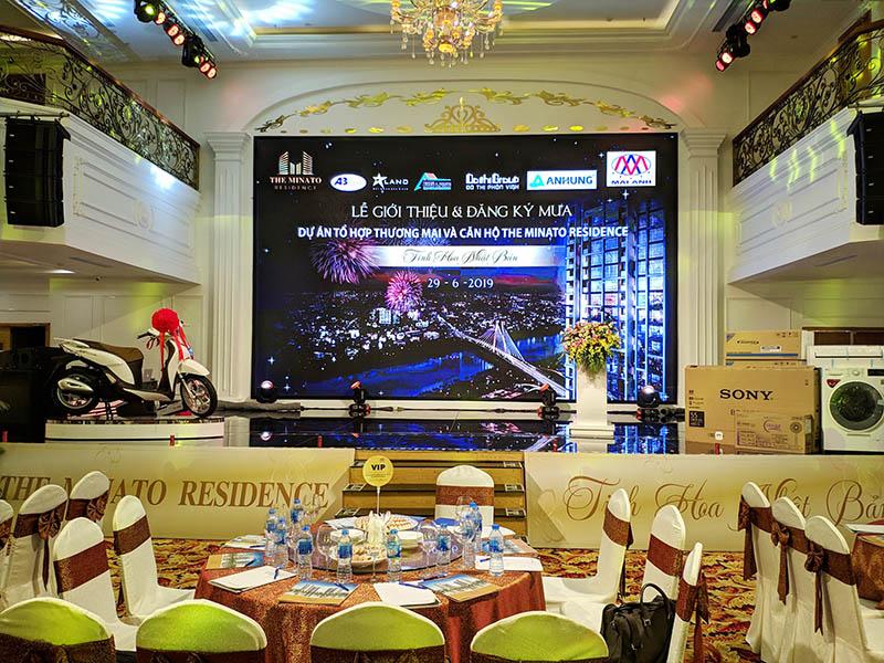 Lễ giới thiệu và đăng ký mua chung cư cao cấp The Minato Residence