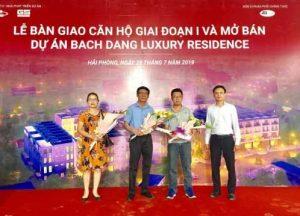 Bàn giao căn hộ Bạch Đằng Luxury Residence