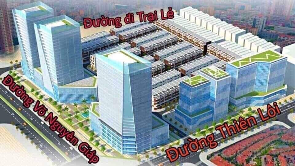 Vị trí Hoàng Huy Mall