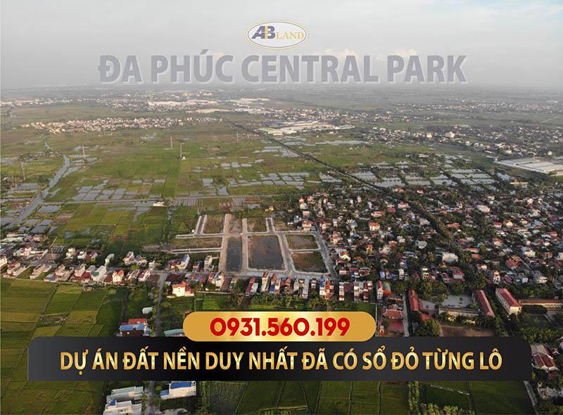 Tổng quan dự án đất nền Đa Phúc Central Park Dương Kinh Hải Phòng