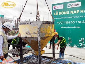 Lễ đóng nắm hầm dự án Hoàng Huy Grand Tower Hải Phòng